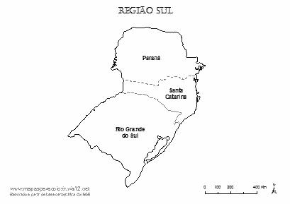 Mapas para Colorir
