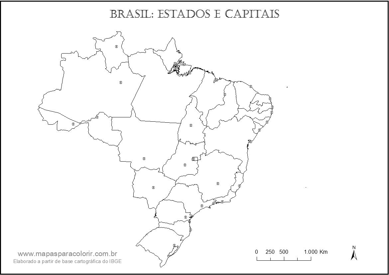 tag estados brasileiros e suas capitais para imprimir